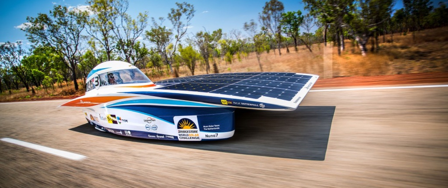 Proud Supplier For World Class Solar Cars Mg Energy Systems