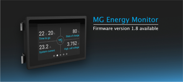 MG Energy Monitor v1.8 firmware