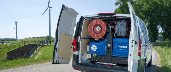 Electric Van Pac Jetter Mercedes Vito