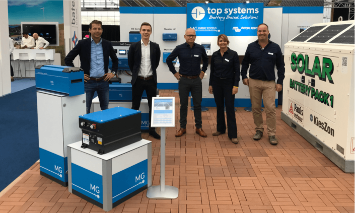 MG Top Systems sales team